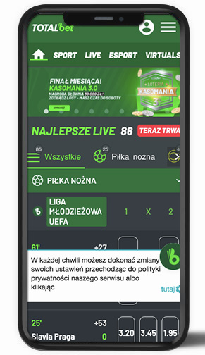 TOTALbet mobile