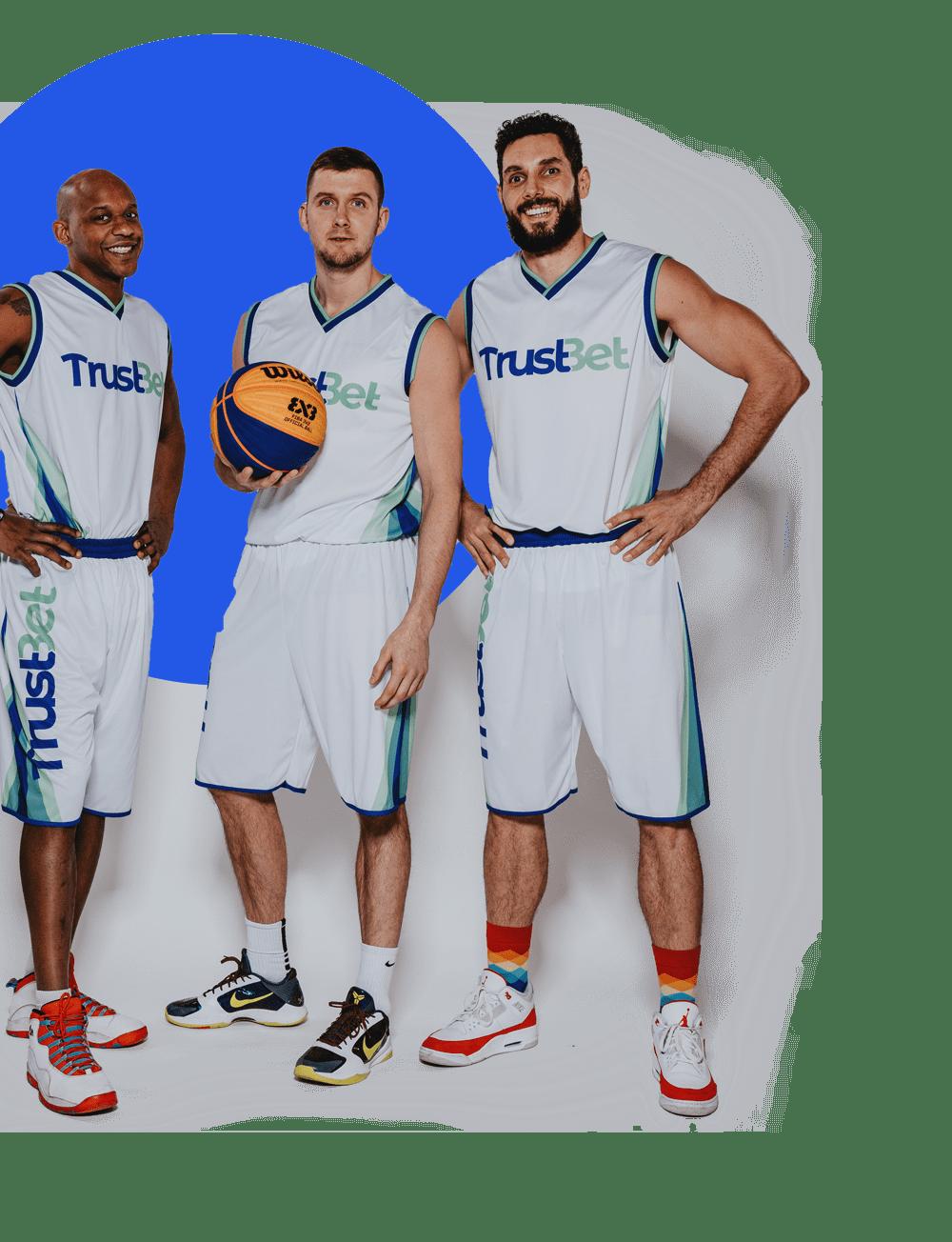 Trustbet sponsroing - koszykarze