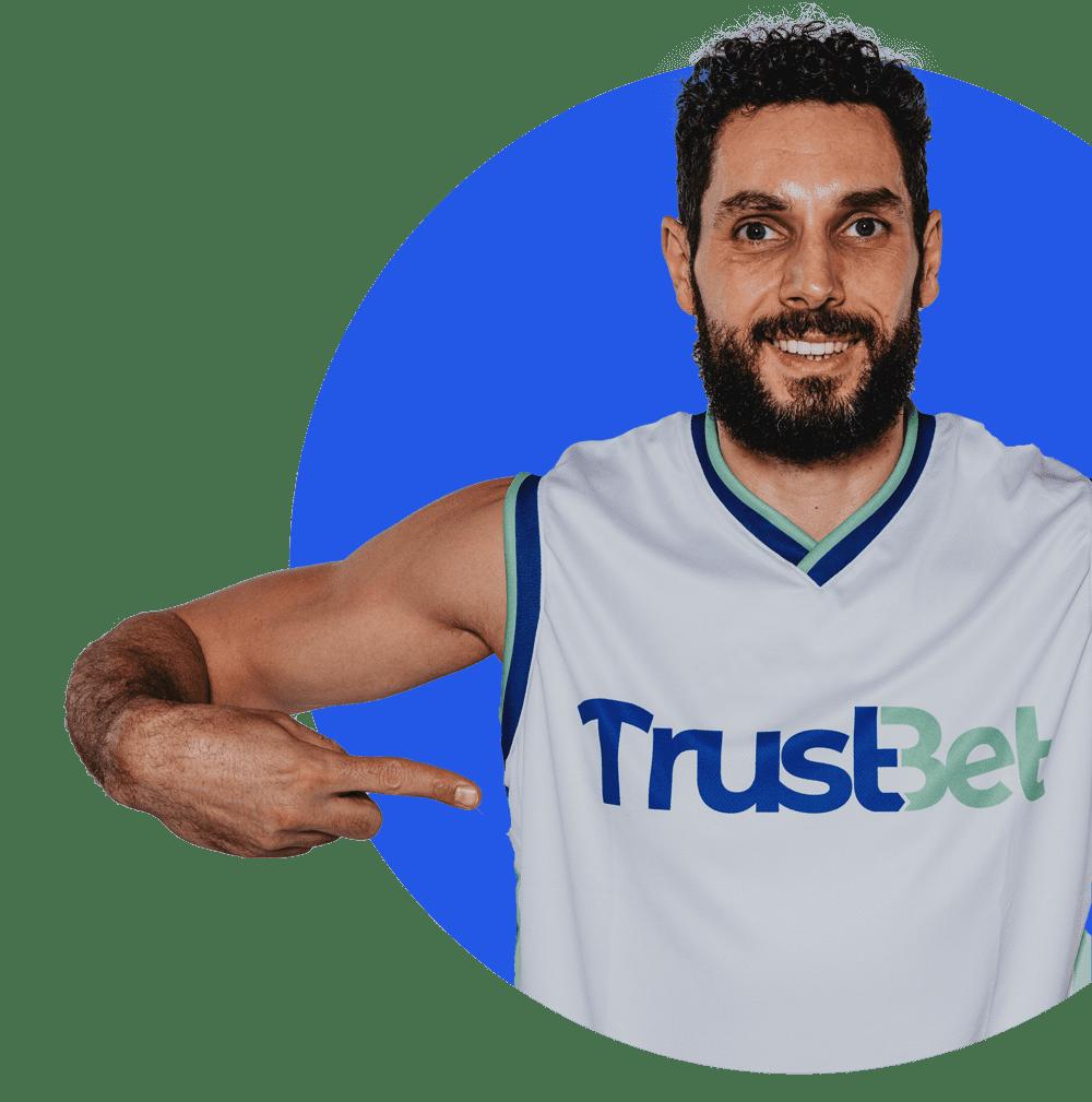 Trustbet sposnoring - koszykarze