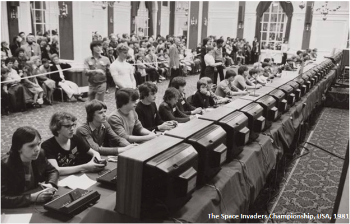 The Space Invaders Championship E-sport class=